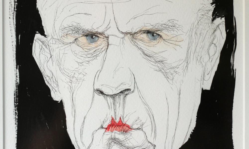 Portret van Reve door Siegfried Woldhek
